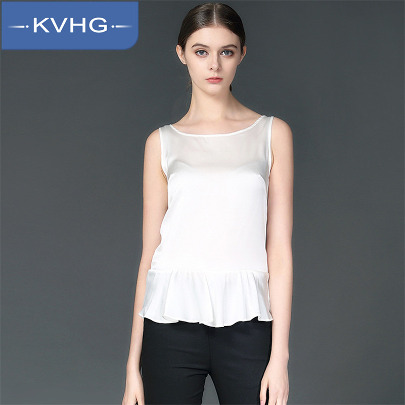 New spring women's KVHG2016 at the end of fashion solid color cultivating wild fight was thin vest harness tide female 1031