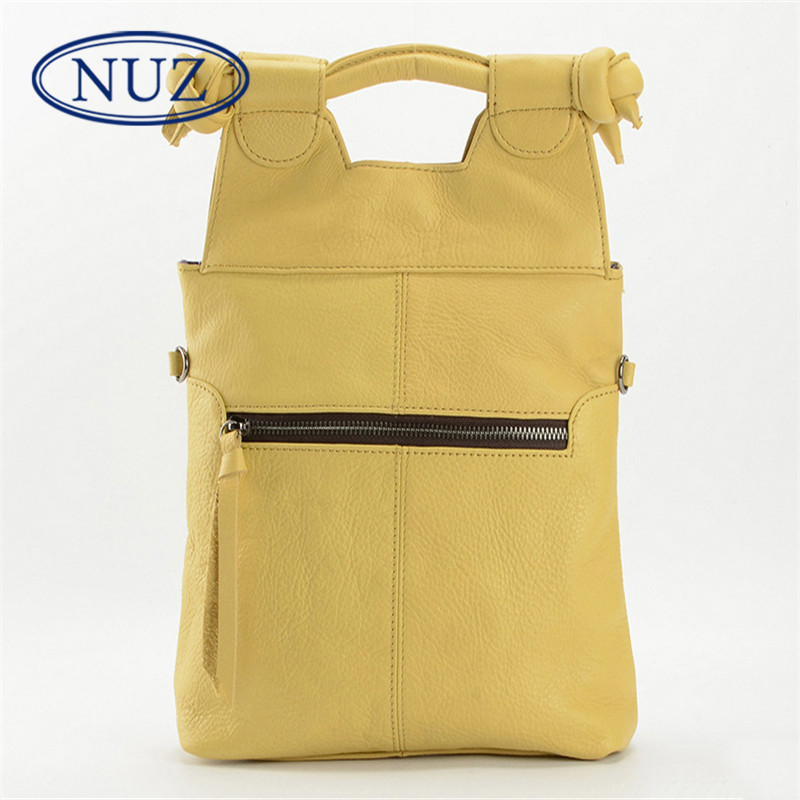New vertical NUZ2016 can be folded fashion handbags handbag bag influx of european and american style ladies wild solid color 3347