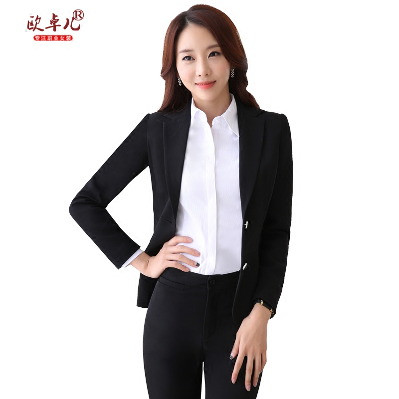 Buy New Winter Wear Womens Skirt Suits Chaps Black Long Sleeve Two