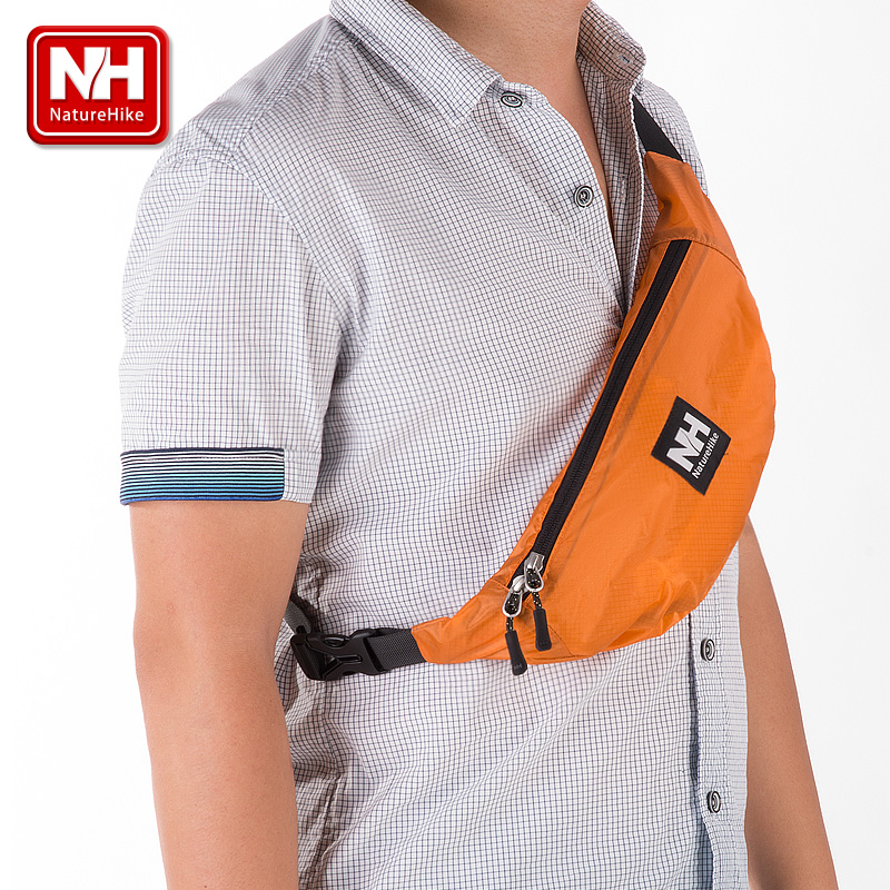 Nh skin ms. messenger bag leisure bag pockets chest pack shoulder bag can multifunctional outdoor running sports bag bag man bag