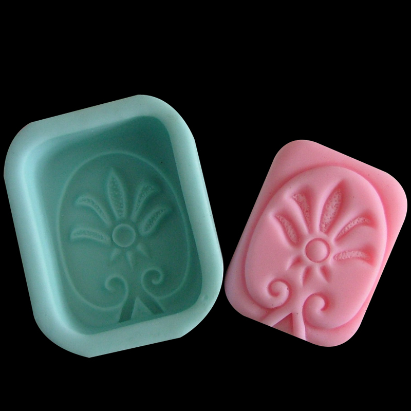 Nicole diy R0125 shaped silicone handmade soap mold candle mold soap mold