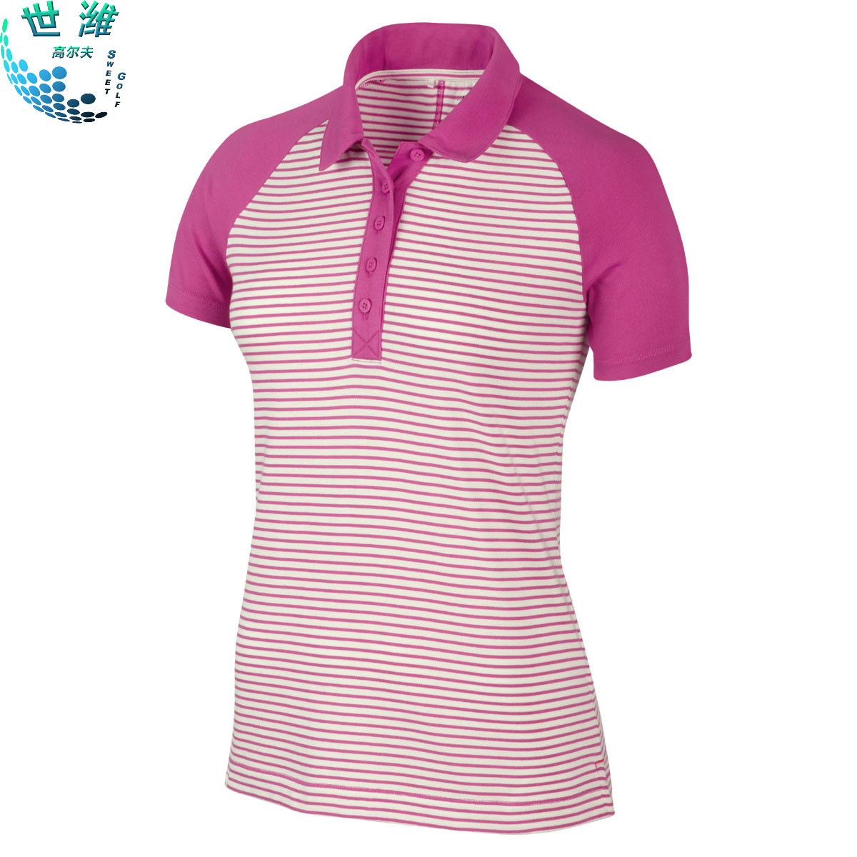 Get Quotations · Nike golf apparel nike golf ladies golf clothes stripes polo shirt t-shirt authentic