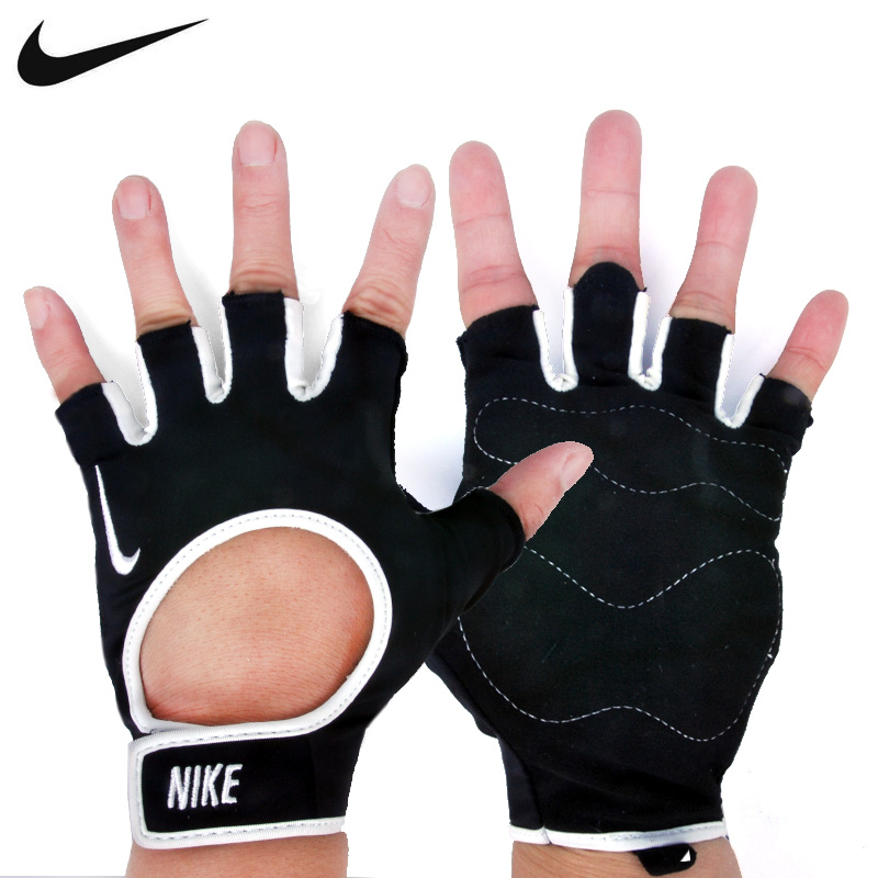 Buy Nike nike men and women bicycle half finger gloves fitness training  equipment weightlifting gloves to protect hands palm in Cheap Price on  Alibaba.com f4867adae2