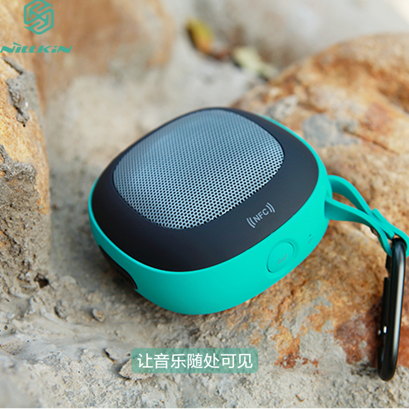 Nillkin/nile gold stone mobile wireless bluetooth speakers outdoor portable mini stereo subwoofer