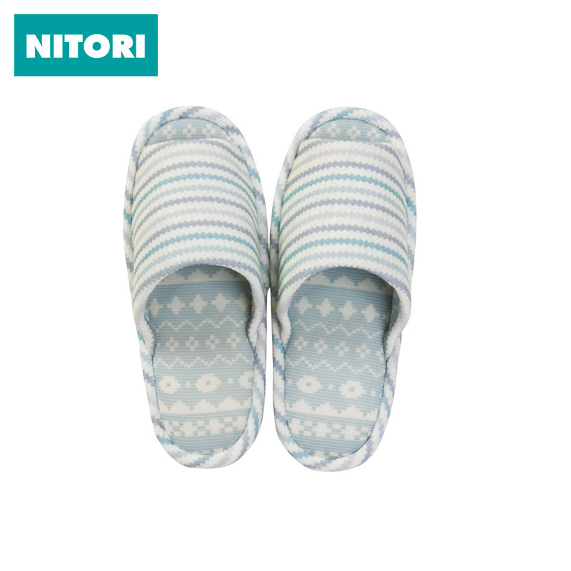 Nitori japan nitori nigerian dalip apathetic 16 m spring and summer slippers indoor slippers thick crust slip