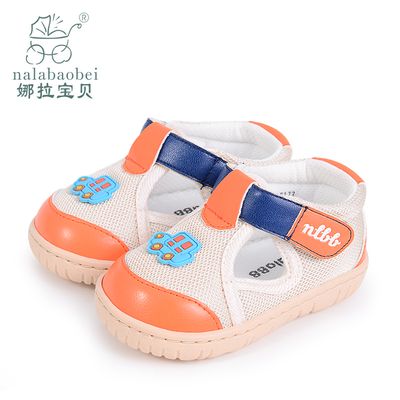 Nora baby infant baby shoes toddler shoes years old male baby shoes velcro shoes baby shoes spring new