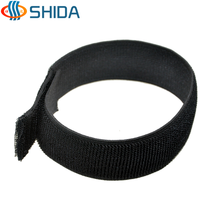 Not buckle elastic velcro cable tie tied with elastic tie 3CM width, length 25-100 cm