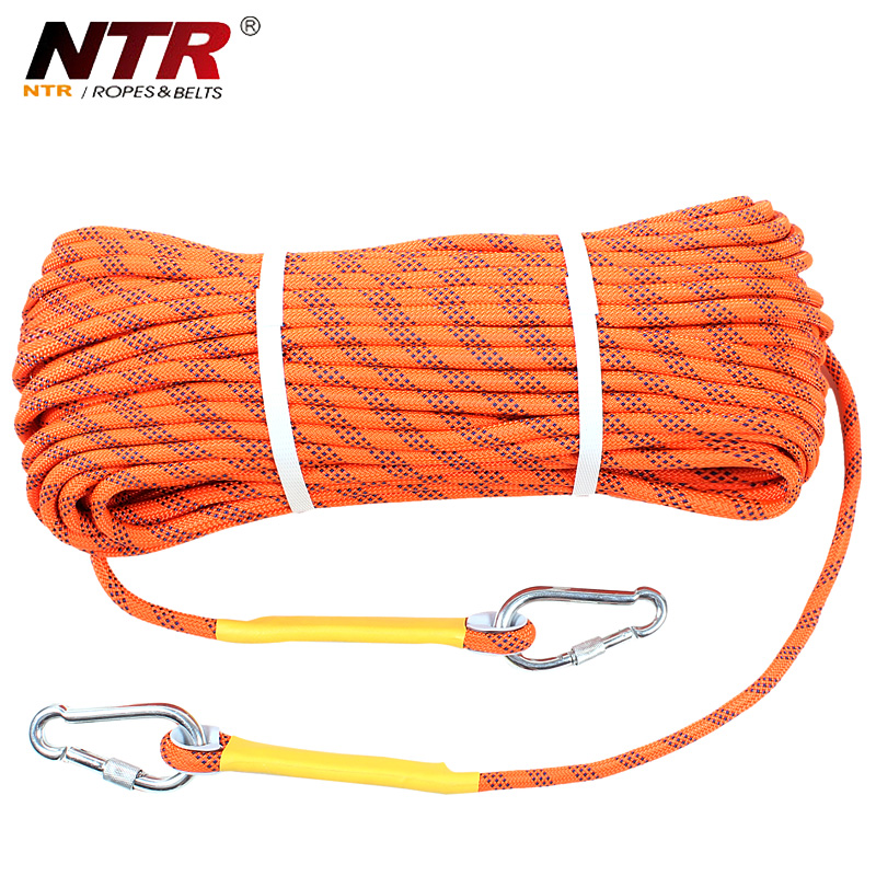 Ntr patel resistant outdoor climbing rope climbing rope climbing rope rappelling rope escape rope safety rope child protective equipment supplies