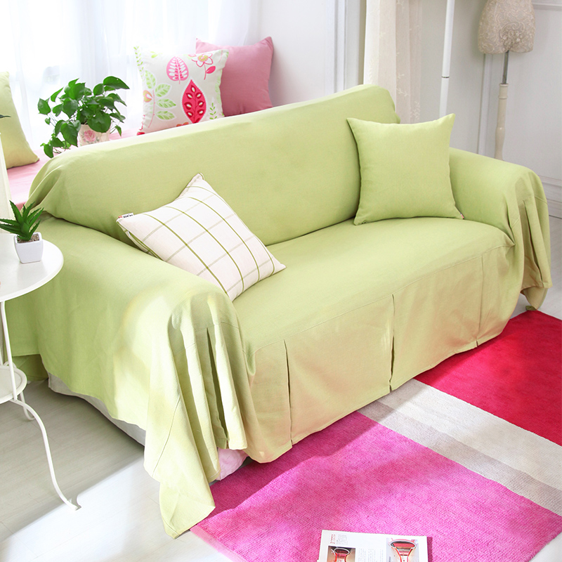 Get Quotations · Nuomai Di Linen Slipcover Sofa Towel Slip Cover Sofa  Cushion Sofa Slipcover Slip Cover Sofa Cover