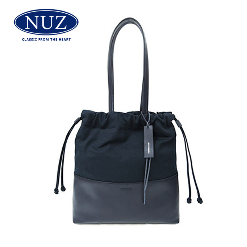 Nuz canvas handbags 2016 korean version of the new solid color small fresh minimalist shoulder bag handbag bag wild pack 3 807
