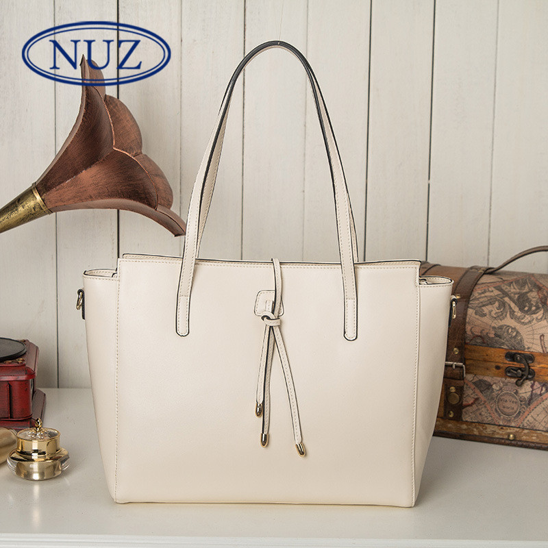 Nuz summer new ladies bags tote bag handbag shoulder bag european style fashion wild solid color 5492
