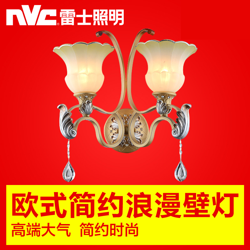 Nvc european fashion simple european restaurant study bedroom hallway wall lamp wall lamp wall lamp led lamps lighting genuine