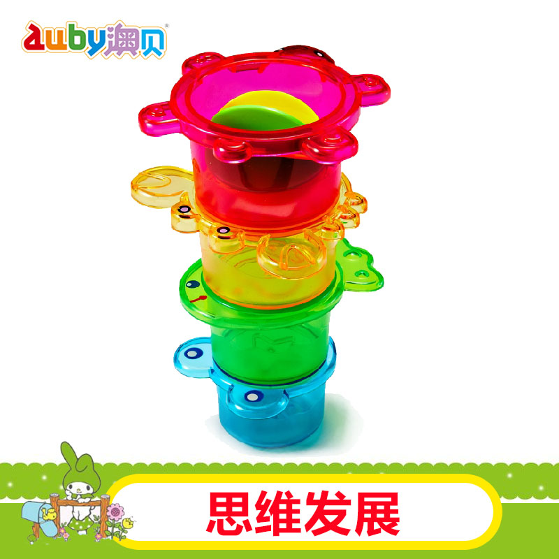 O pui marine piles cup 463412 o pui genuine obey baby toys for children playing in the water bath toy baby