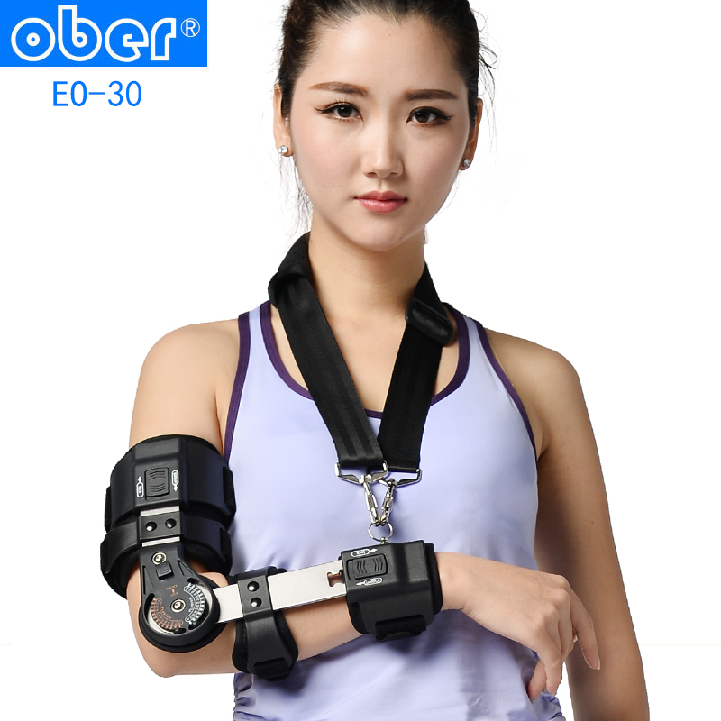Ober adjustable elbow brace fixed arm brace fracture brace epipodite 00in section off the rehabilitation device orthosis