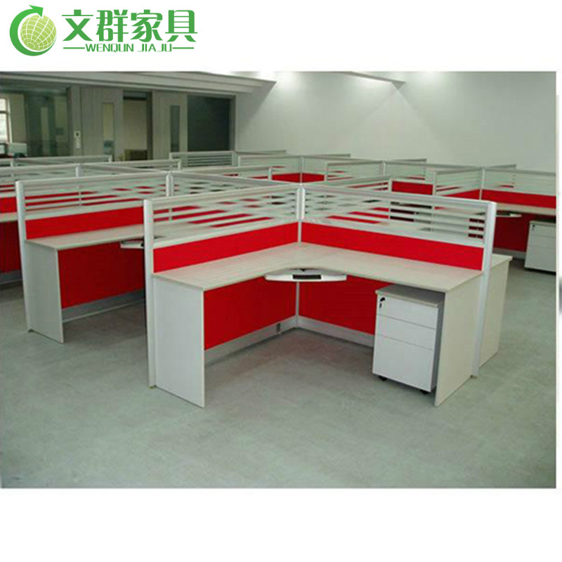 Office furniture desk office wall partition glass partition wall panels stylish combination of staff position staff position