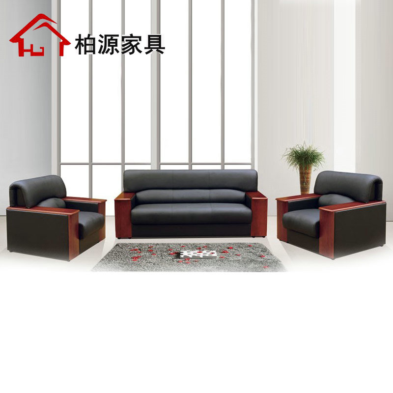 Office furniture office sofa leather sofa office sofa office sofa table combination office business