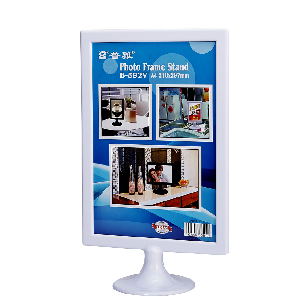 Office supplies packaging materials B-592V super easy photo frame transparent plexiglass acrylic photo frame upscale fashion