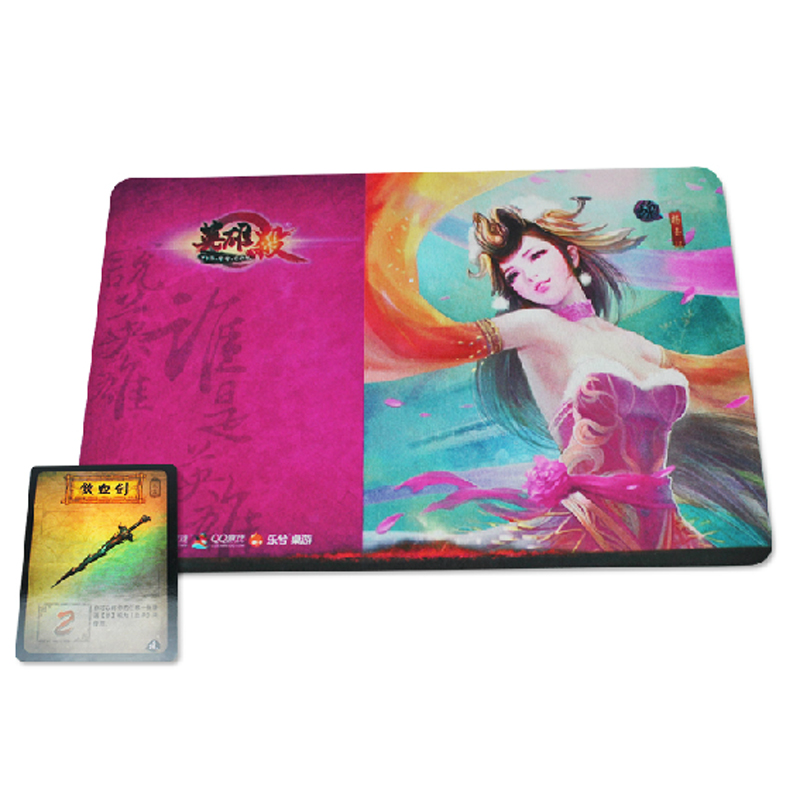 Official certification hero kill limited edition mouse pad 2 models optional flash cards to send weapons