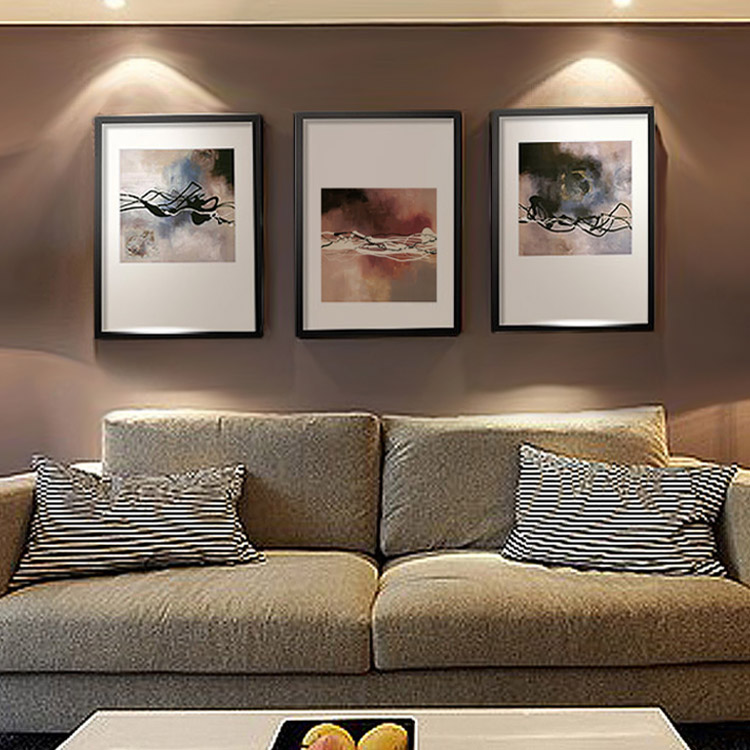 Oil painting abstract art painting decorative painting the living room modern minimalist triple sofa backdrop mural paintings decorative painting interior painting