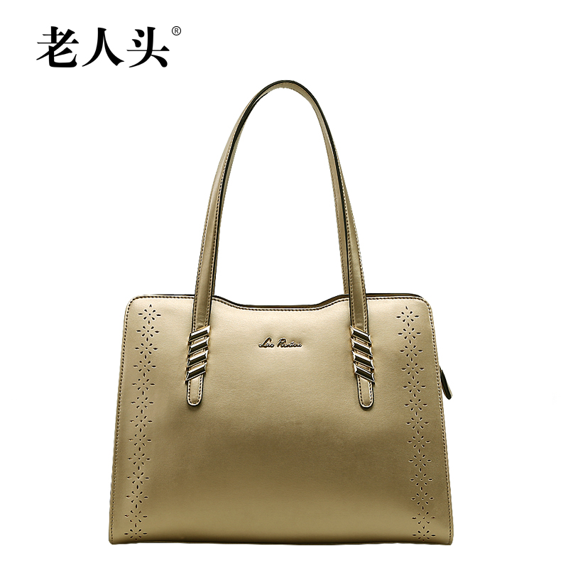 Old head handbags authentic 2016 new hollow luxury brand leather handbag  shoulder bag women s singles european c528242c4d170