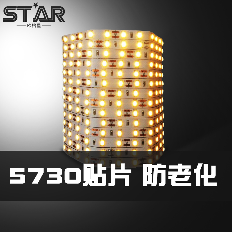 Olger star bright led lights can be customized 5730 lights with soft light 60 beads 90 beads showcase living room background