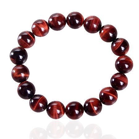One one 8-40m3 18mm red tiger eye domineering tiger eye bracelet collections of clear male and female models crystal jewelry