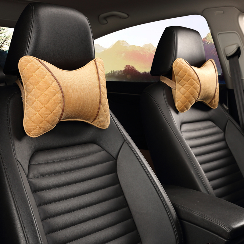 Get Quotations Cute Cartoon Plush Neck Pillow Headrest Car With Driving Safety Drive