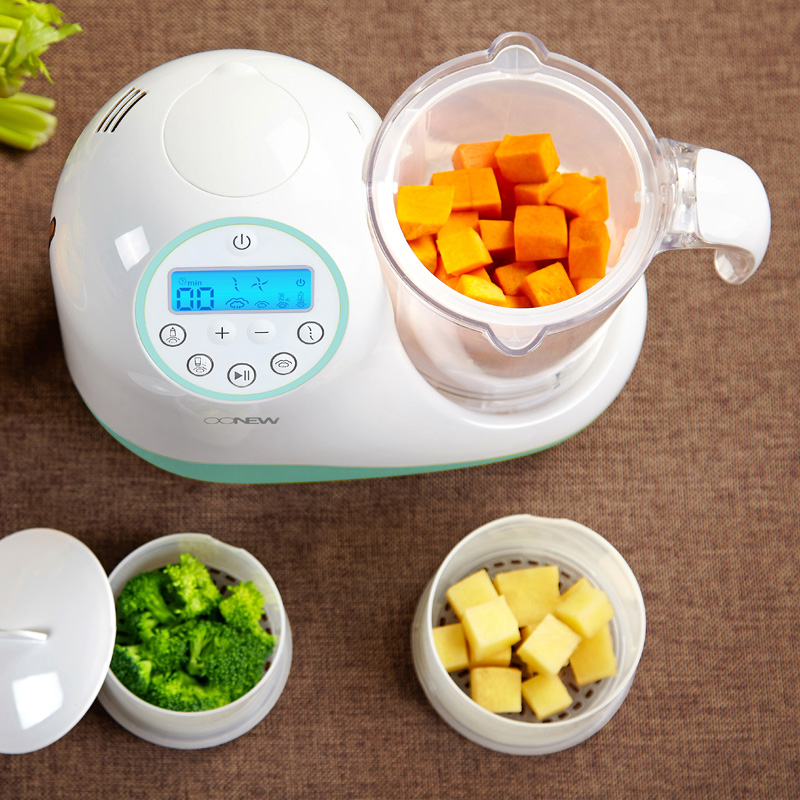 Oonew oh baby cow baby food supplement machine cooking stir cooking machine multifunction baby food supplement tool grinder