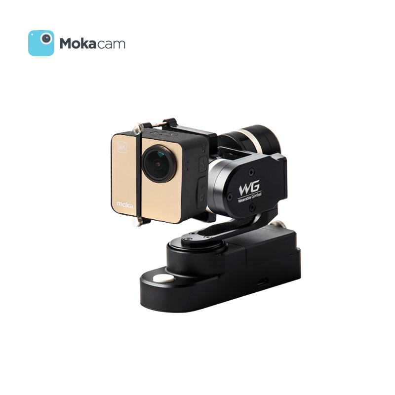 [Opening celebration] wg mokacam shipped move wearable triaxial handheld stabilizer ptz camera darrick