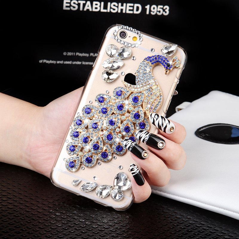 Oppoa53 a53m oppo mobile phone shell soft silicone protective sleeve popular brands lanyard rhinestone female models diamond influx of women