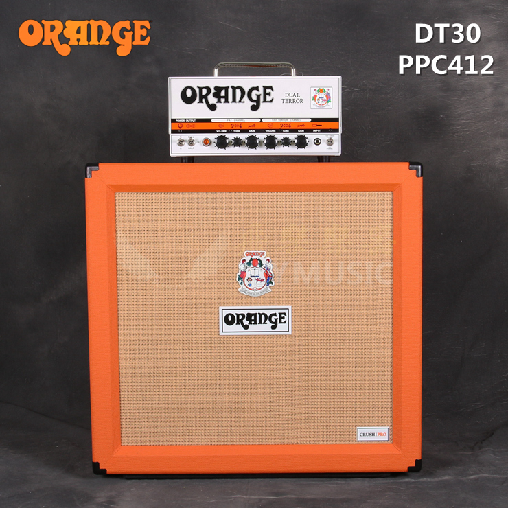 Orange orange -- dt30 PPC212 all tube/412 split electric guitar speaker
