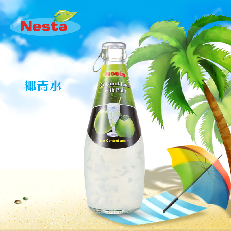 Original bottle of imported from thailand and the united states to coconut grain ml coconut water coconut water coconut pulp juice drink products