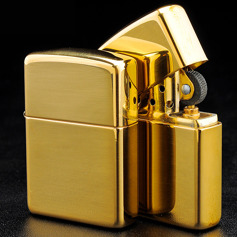 Original genuine zippo lighter copper armor mirror mirror juki 169 counter genuine limited edition