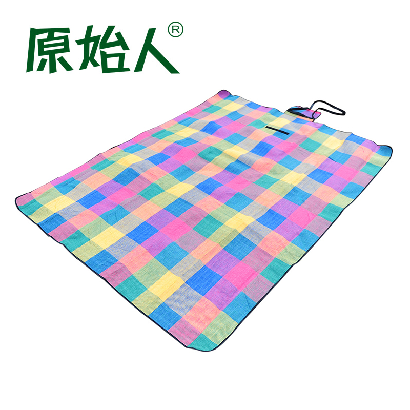 Original people camping camping thicker moisture pad outdoor mat picnic mat crawling mat picnic cloth thick