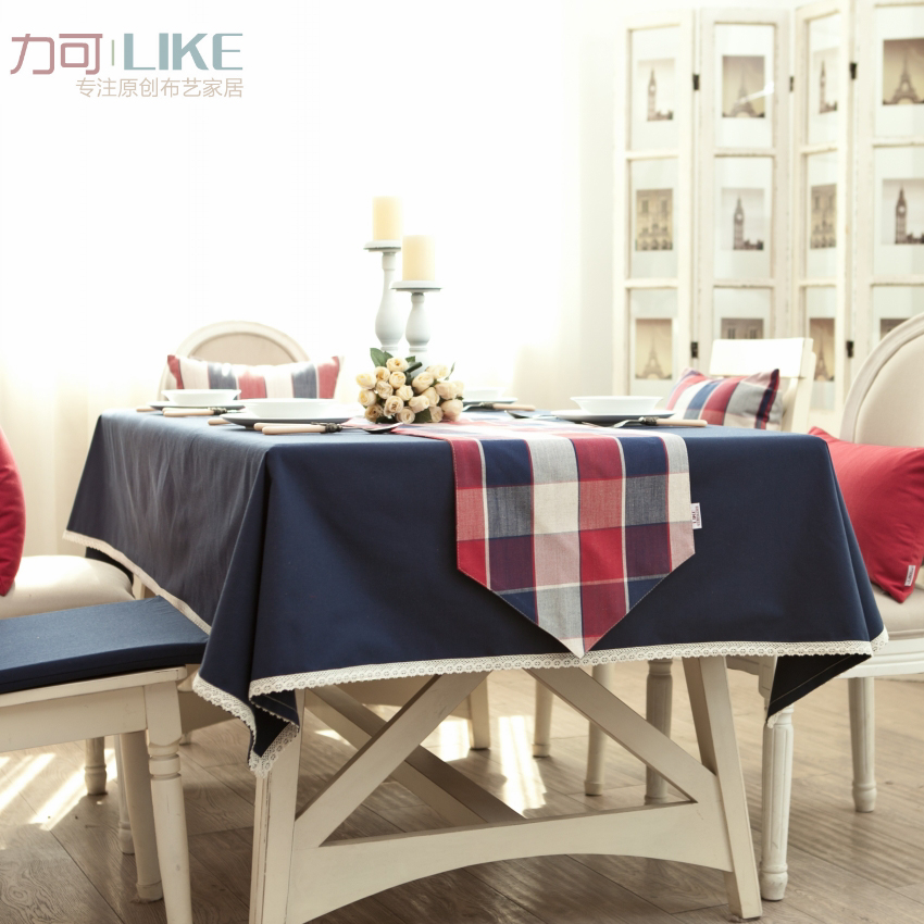 Get Quotations · Original! Tablecloths Tablecloth Table Cloth Mat Coffee  Table Bugaboo British Lun Fabric Dyed Solid Color