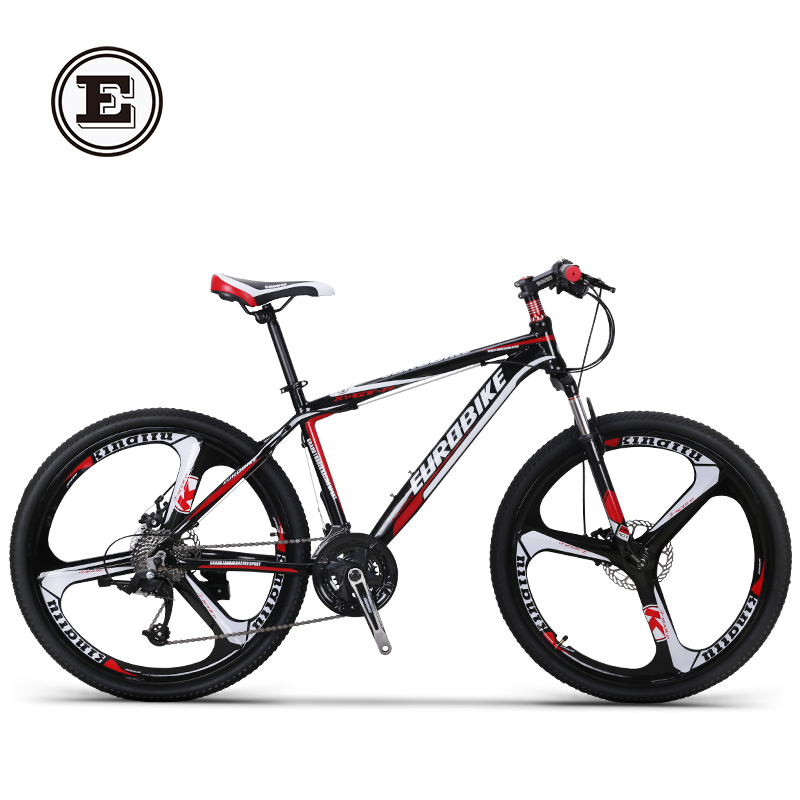 Ou baike aluminum mountain bike 27 speed dual 26-inch disc brakes 24/26/27.5 inch one round of the more wild mountain Bicycle