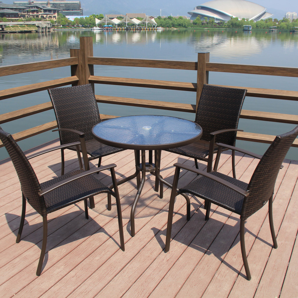 Balcony patio furniture Bungalow Porch Get Quotations Outdoor Furniture Rattan Chair Rattan Patio Leisure Furniture Combination Balcony Patio Rattan Chairs Suit Sun Umbrella Alibabacom China Used Patio Furniture China Used Patio Furniture Shopping