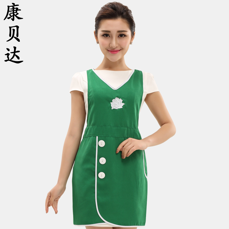 Overalls waiter aprons aprons overalls restaurant kitchen aprons for men and women coffee milk tea cake shop halter apron