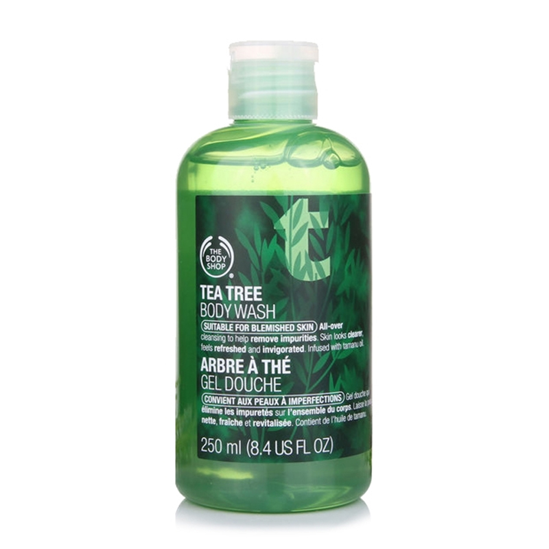 Overseas direct mail the body shop/body shop tea refreshing shower gel 250 ml oil control