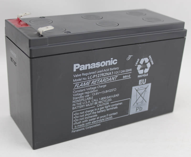 Panasonic battery panasonic LC-P127R2NA1 12v7. 2ah ups battery lead acid battery maintenance-free battery
