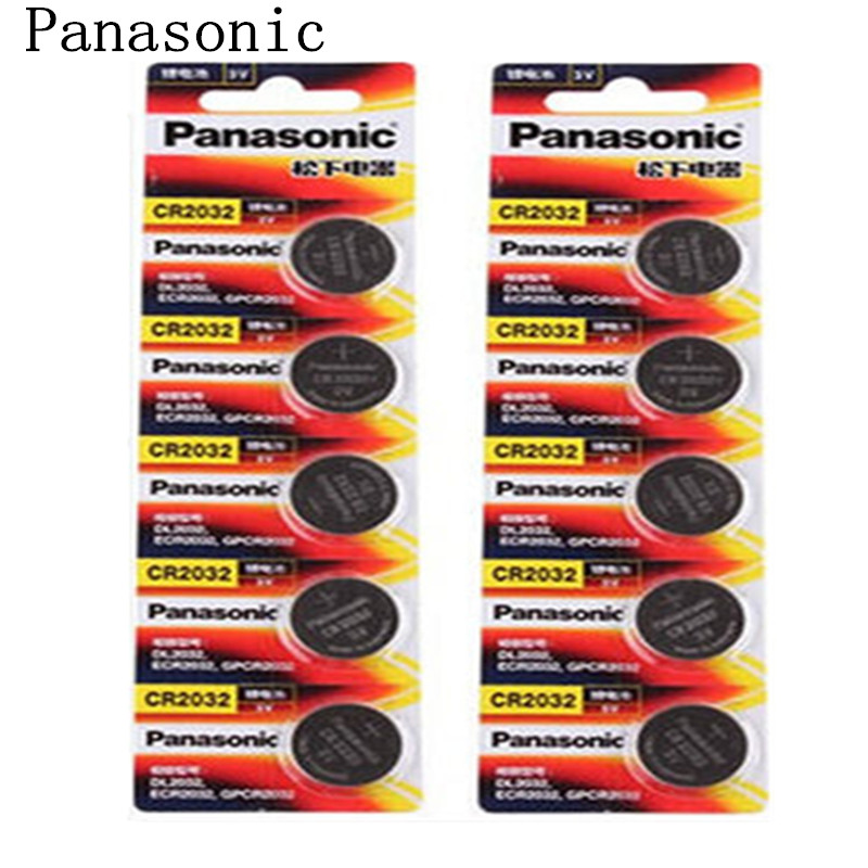 Panasonic cr20323v lithium ion button battery computer motherboard electronic scale battery 10 tablets price