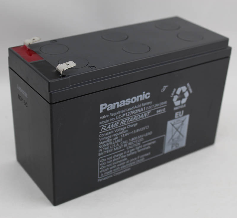 Panasonic panasonic LC-P127R2NA1 lead acid battery 12v7. 2ah ups power supply battery