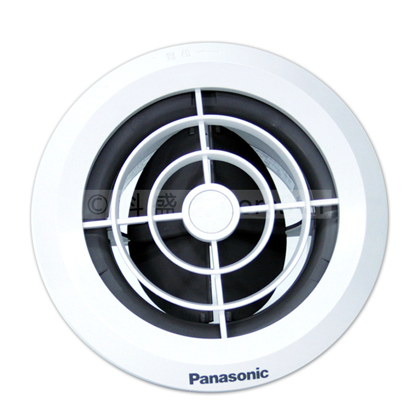 Panasonic's new air system indoor ceiling wall outlet circular adjustable air volume air exhaust vent 75