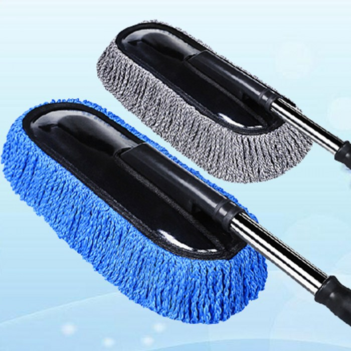 Paragraph 2016 retractable flat brush car wax duster dusting brush drag car wax car wash cleaning mop cleaning