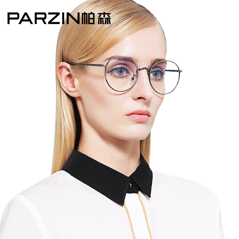 Parsons metal round frame glasses frames for men and women theatrical spectacle frames can be equipped with myopia glasses frame 2016 of the new 56031