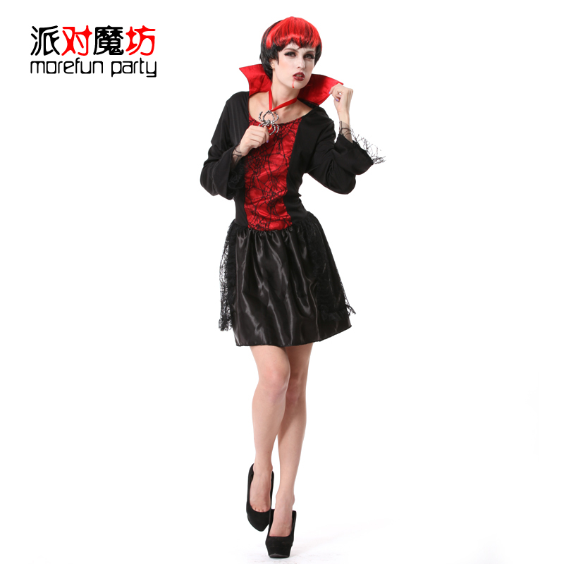 Party magic square halloween masquerade party party party adult female models vampire witch clothes clothes suit