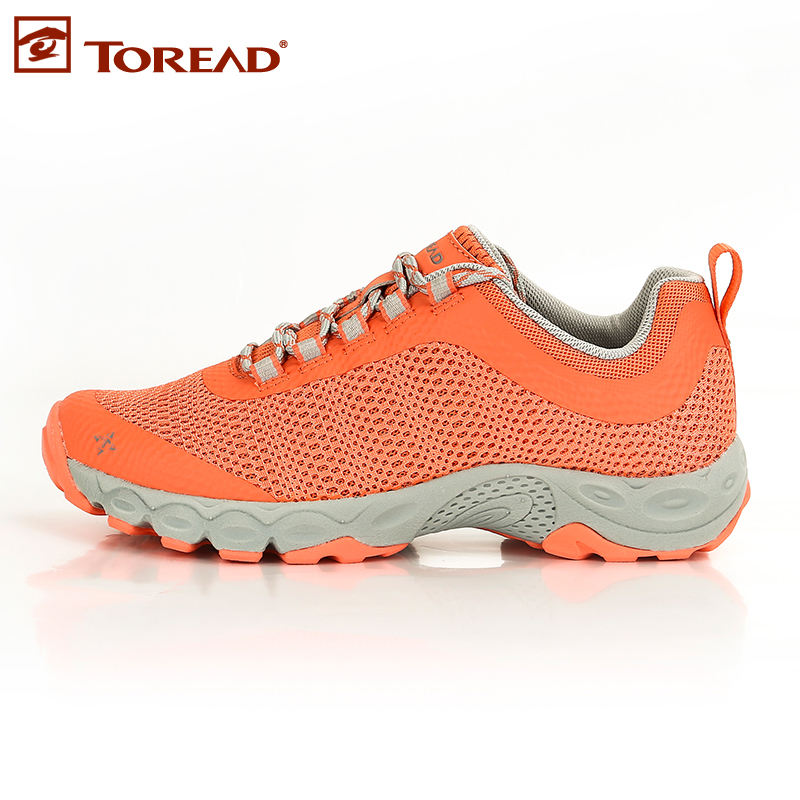 Pathfinder spring and summer outdoor hiking shoes lightweight breathable mesh slip hiking shoes ms. tfad82302