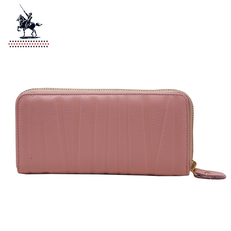 Paul knight genuine leather wallet ms. long wallet women handbag wallet zipper clutch wallet women handbag women