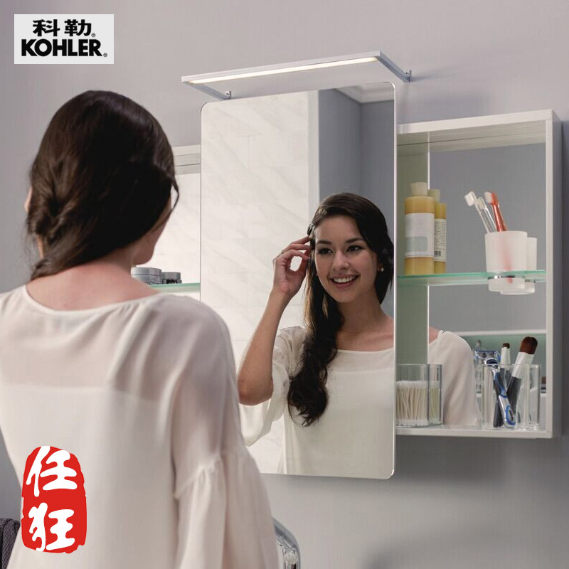 Paypal köhler bathroom mirror cabinet storage cabinet mirror cabinet mirror waterproof bathroom mirror bathroom mirror decorative wall hangings K-72441T