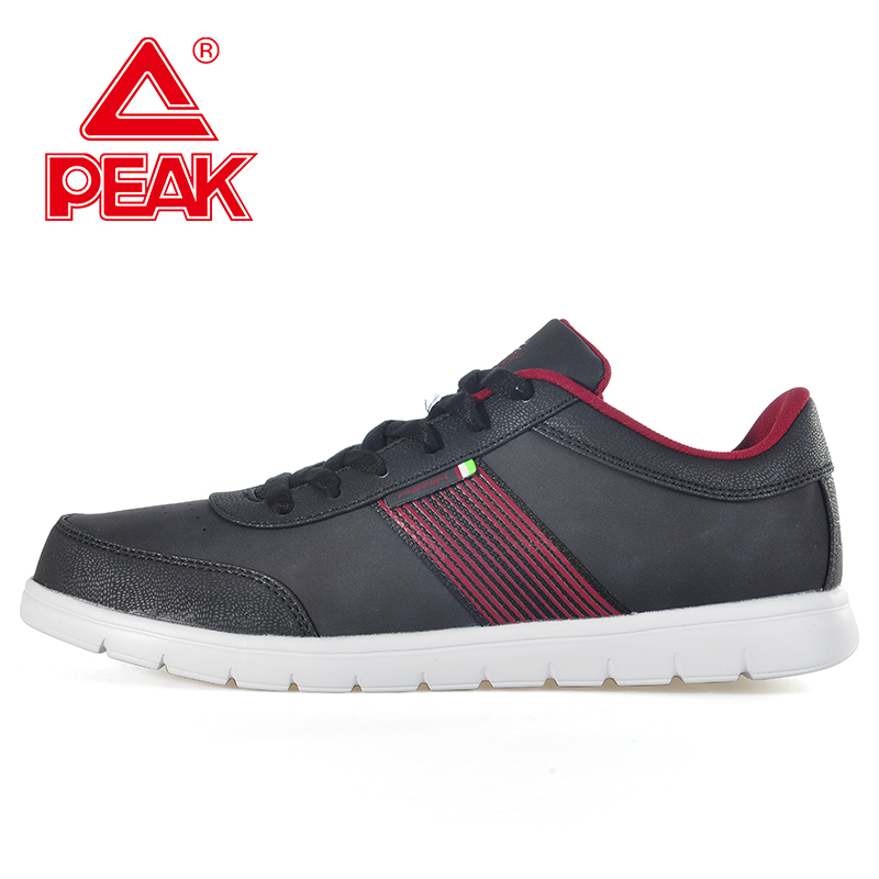 Peak/olympic men's casual shoes autumn and winter wild fashion casual wear and sports shoes slip E54127E